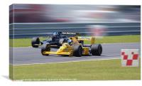 Lotus Type 79 and 102T, Canvas Print