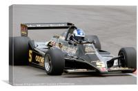 Lotus Type 79, Canvas Print