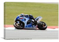 Josh Brookes, Canvas Print