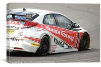 1 Matt Neal, Canvas Print