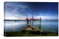 Tollesbury Lightship Trinity, Canvas Print