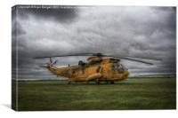 Westland Sea King HAR3 ZH543, Canvas Print