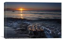 Easthaven Sunrise, Canvas Print