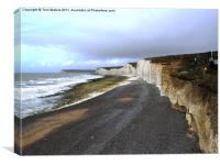 Seven Sisters Birling Gap Sussex, Canvas Print
