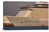 Quantum of the Seas, Canvas Print