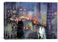 Olympics 2012 Industrial Revolution Ceremony, Canvas Print