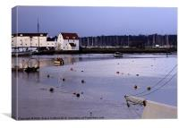 Woodbridge Old Tide Mill, Canvas Print