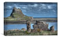 Lindifarne Castle (Holy Island), Canvas Print