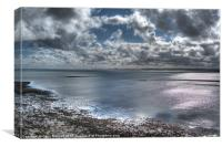 Lindisfarne View, Canvas Print