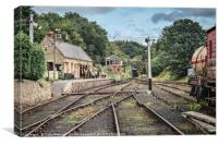 Rowley Station, Canvas Print