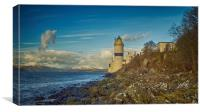 Seahorse cloud and the Cloch Lighthouse, Canvas Print