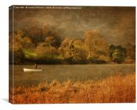 Thornton Reservoir, Leicestershire, Canvas Print