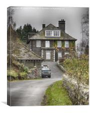 The Haweswater Hotel, Cumbria, Canvas Print