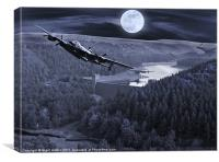 Night Training, Canvas Print