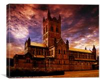 The Abbey, Canvas Print