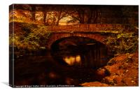 Evening at Rivelin, Canvas Print