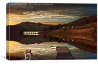 Crook Hill Reflections, Canvas Print