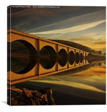 Heavenly Arches, Canvas Print