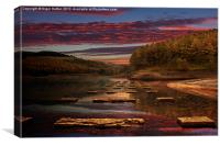 Ouzelden Sunset, Canvas Print