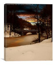 Fairholmes Bridge, Canvas Print