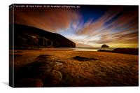 Gull Rock View, Canvas Print