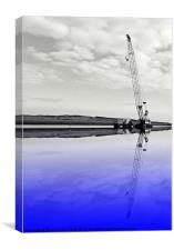 Reflected heights, Canvas Print