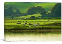 Rural England, Canvas Print