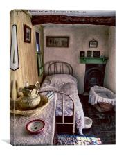 1930's Bedroom, Canvas Print