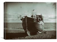Ye Olde Fishing Fleet, Canvas Print