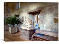 In the Orangery, Canvas Print
