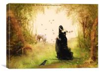The Forest Fairy, Canvas Print