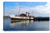 The Waverley at Gairloch, Canvas Print