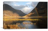 Glencoe Majesty, Canvas Print