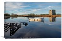 Threave on the Diagonal, Canvas Print