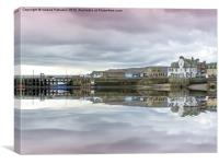 Millport Pier, Canvas Print
