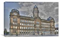 Glasgow Landmark, Canvas Print