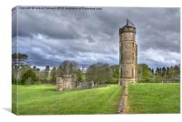 Eglinton Castle Tower & Ruins, Canvas Print