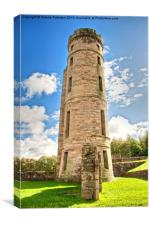 Eglinton Ruins & Tower, Canvas Print