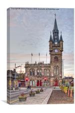 Renfrew Town Hall, Canvas Print
