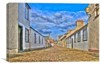 Glasgow Vennel Irvine, Canvas Print