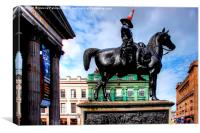 Duke Of Wellington, Canvas Print