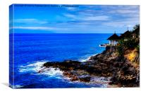 Cliff Edge Restaurant, Canvas Print