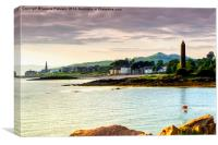 Largs Pencil, Canvas Print