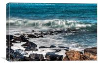 Costa Teguise Shore, Canvas Print