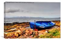 From Portencross to Arran, Canvas Print