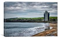 Aberdeen Beach & Marine Operations Centre, Canvas Print