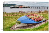 Life Boat on Broughty Ferry , Canvas Print