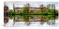 Laurieston House , Canvas Print