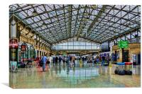 Aberdeen Railway Station , Canvas Print