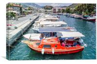 Marmaris Harbour, Canvas Print